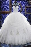 Suknia balowa Sznurowane Baskijski talii Kościelna Sukienka ślubne