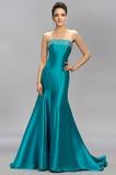 Drobna Satyna elastyczna Płaszcz Nanoszone Sukienka wieczorowe