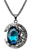 Naszyjnik kobiet Nowy produkt Crystal Naszyjnik Biżuteria Retro Naszyjnik