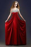 V-dekolt Keyhole z powrotem Długi Imperium Sukienka wieczorowe