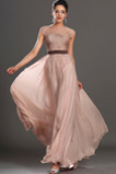 Latem Średni Klejnot Tiul nakładki Naturalne talii Sukienka wieczorowe