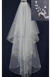 Ślubna zasłony Pearly White Perler Szorty Ślubna Sukienka Bogini