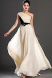 Szyfon Krótki rękaw Naturalne talii Lato Sukienka wieczorowe