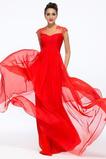 Latem Szyfon Długość do podłogi Naturalne talii Sukienka wieczorowe