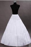 Wedding Petticoat Suknia ślubna Perimeter Bezramienna Standardowa Elastyczna talia