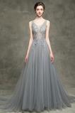 Długość do podłogi Bez rękawów Naturalne talii Sukienka wieczorowe