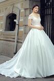 V serek Elegancki Wiosna Ograniczona rękawy Sukienka ślubne
