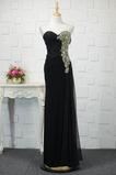 Bez pleców Długość do podłogi Naturalne talii Sukienka wieczorowe