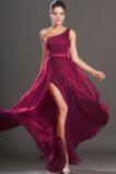 Seksowny Bez rękawów Połowy pleców Podzielony przód Sukienka wieczorowe