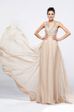 Długi Linia A Przyjęcie Trójkąt plecionka Sukienka wieczorowe
