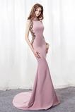Naturalny talia Chybienia Dekolt łódka Przyjęcie Sukienka wieczorowe