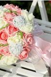 Symulacja 30 przędzy z oblubienicy bukiet róż róże na gwiazdę nieba