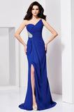 Seksowny Naturalne talii Na jedno ramię Chybienia Sukienka wieczorowe