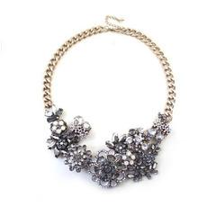 Koraliki Krótkie Kwiaty Fashion Wholesale Necklace Adornment