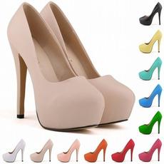 14 cm Wodoodporne buty ślubne na wysokim obcasie w stylu mody