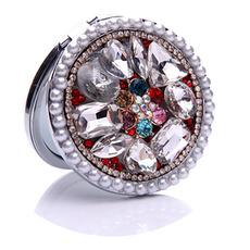 Luksusowe okrągłe diamentowe inkrustowane składane ozdoby