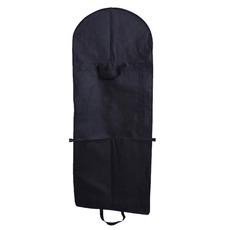Czarna tkanina nietkana i sukienka dużego worka składane suknię ślubną
