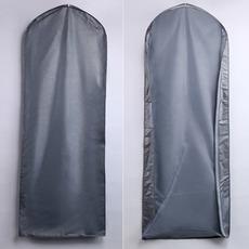 Osłona przeciwpyłowa 155 cm hurtowo srebrna przezroczysta ślubna torba na kurz