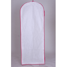 Biały duża suknia wieczorowa suknia ślubna z długą okrywą