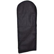 Gruby czarny nietkany gaza sukienka kurzowa suknia wieczorowa torba na kurz