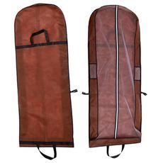 Brązowy dual-use przenośny strój pyłoszczelny worek składany duży ślub pościel kurzu