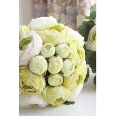 Liście są zielone wesele gospodarstwa kwiaty kwiaty druhny gospodarstwa