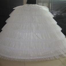 Suknia Ślubna Suknia ślubna Długie Sześć obręczy Vintage Elastyczna talia