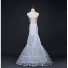 Ślubny Petticoat Syrena Podwójna Przędza Spandex Corset Suknia ślubna