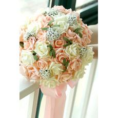 30 kwiat bukiet oblubienicy gospodarstwa szampana ró? A kwiat bridesmaid? Lubu