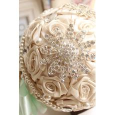 Diamentowe ślubne perła ślubna fotografia układ dekoracji pomysły gospodarstwa kwiaty