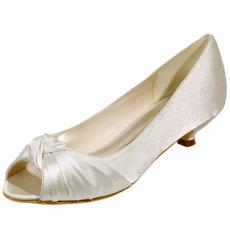 Buty ślubne buty ślubne usta ryby satynowe buty na przyjęcie