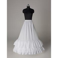 Ślubny Petticoat Elegancki Suknia ślubna Elastyczny pasek Poliester Tafta