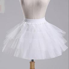 Ślubna Petticoat Balletowa spódnica Krótka Podwójna przędza Elastyczna talia