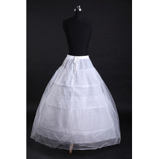 Ślub Petticoat Trzy obręcze Silne Net Modny Perymetr Standard