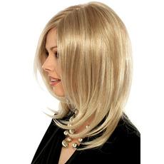 Pear Perruque Odpowiednie dla kobiet normalny materiał Long Curly