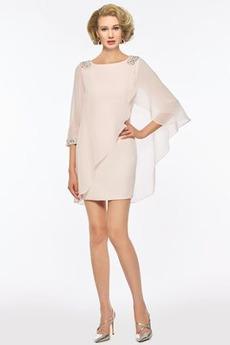 Płaszcz Naturalny talia Elegancki Klejnot Nanoszone Spódnica matki