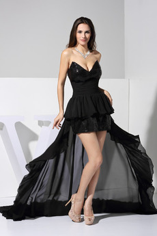 Bez rękawów Panienki Glamour Na suwak Sukienka na studniówkę