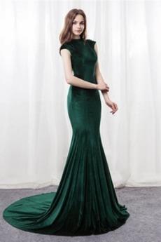 Syrena Sama z powrotem Aksamit Chybienia Sukienka wieczorowe