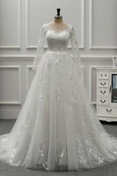 Nasuwki złudzenia Aula Prostokąt Długi Klejnot Sukienka ślubne