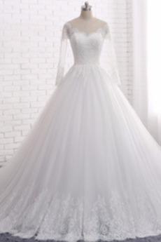 Katedra Pociąg Aula Linia A Elegancki Prostokąt Sukienka ślubne
