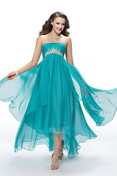 Bez rękawów Wydajność Asymetryczny Średni Sukienka na studniówkę