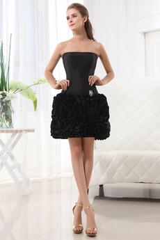 Spadła talii Balowa Elegancki Rozeta akcentowane Sukienka wieczorowe