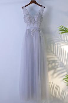 Naturalne talii V serek Klepsydra Przyjęcie Sukienka dla Druhen