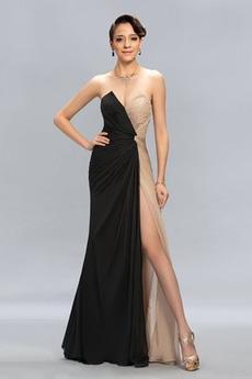 Seksowny Naturalne talii Długość do podłogi Sukienka wieczorowe