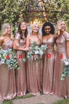 Długi Naturalne talii Ramiączkach Nanoszone Sukienka dla Druhen