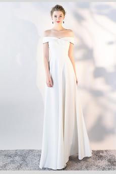 Przyjęcie Długość do podłogi Ograniczona rękawy Sukienka wieczorowe