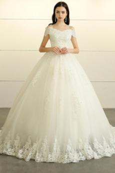 Sznurowane Aula Nanoszone Kaplicy pociągu Formalny Sukienka ślubne