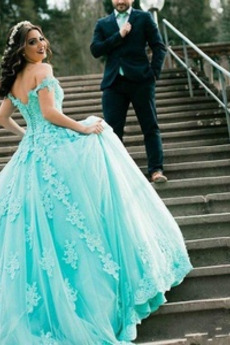 Koronka Ograniczona rękawy Huśtawka Zima Długi Sukienka ślubne