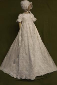 Formalny Krótki rękaw Puf rękawy Księżniczka Sukienka do chrztu