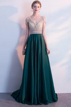 Naturalne talii Bez rękawów Zimowe Średni Sukienka wieczorowe